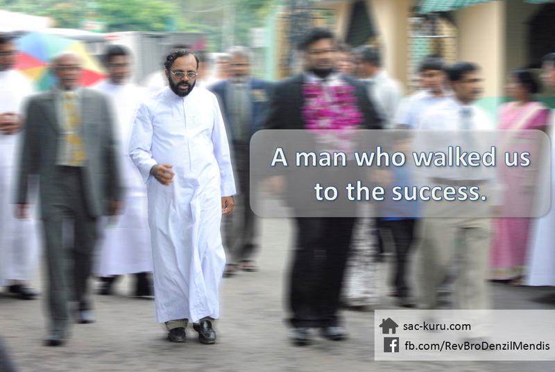 A man who walked us to the success