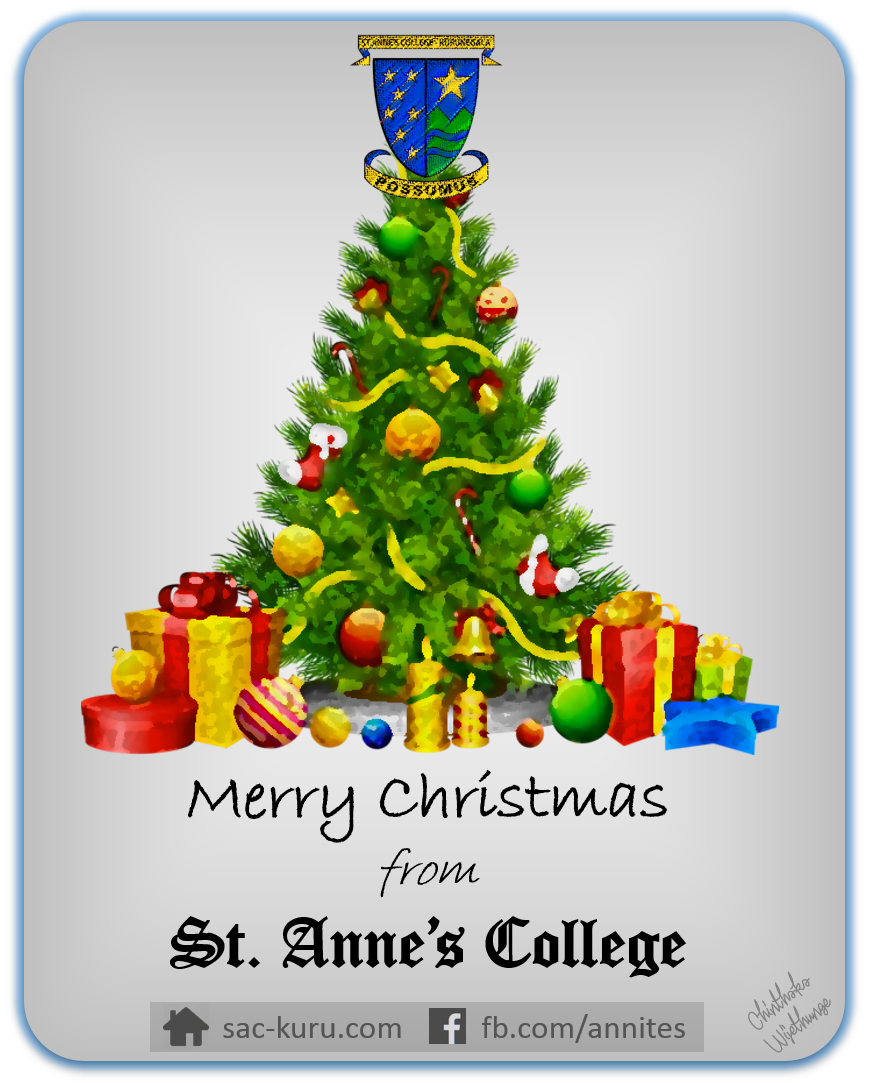 Christmas wishes from Annites Family